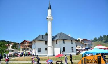 Otvorena novoizgrađena džamija u naselju Karalinka kod Bugojna