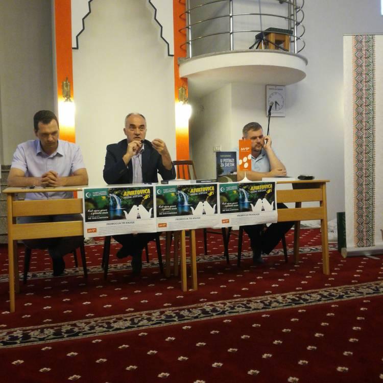 """Džemat Putiš: Promocija knjige """"U potrazi za svetim"""""""