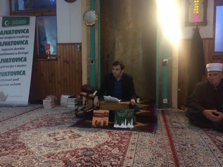 DŽEMAT KAĆUNI:  Održana promocija knjige ''Allahov poslanik i njegova porodica / Ehli-bejt''
