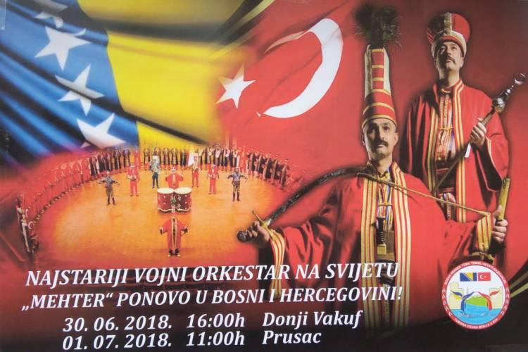 """Najstariji orkestar na svijetu """"Mehter"""" ponovo u BiH!"""