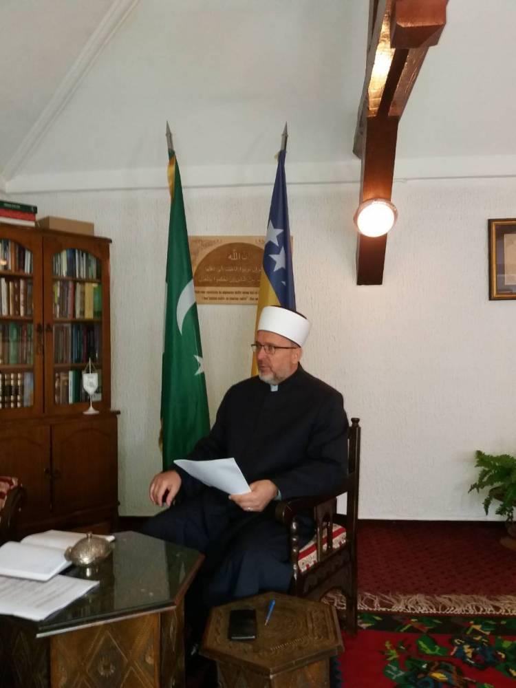 Održana konstituirajuća sjednica Muftijstva travničkog