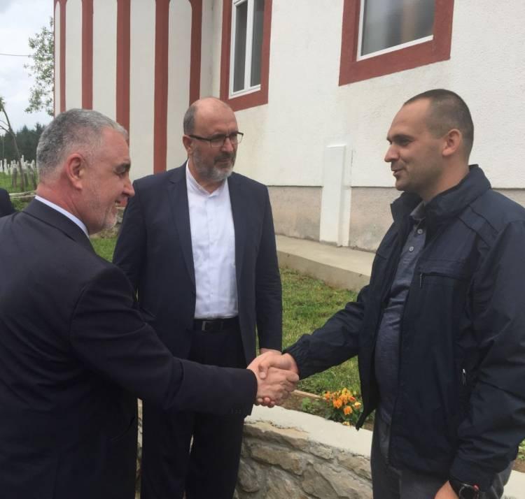 Reisu-l-ulema posjetio poplavljeno naselje Mudrike na Vlašiću kod Travnika