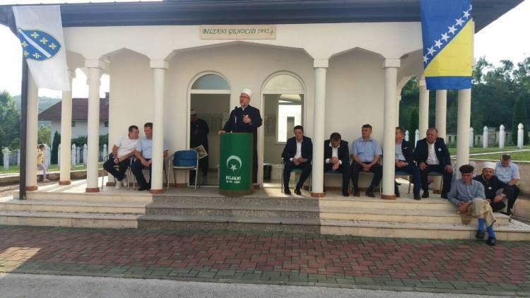 Muftija travnički prisustvovao obilježavanju stradanja Bošnjaka u Biljanima kod Ključa