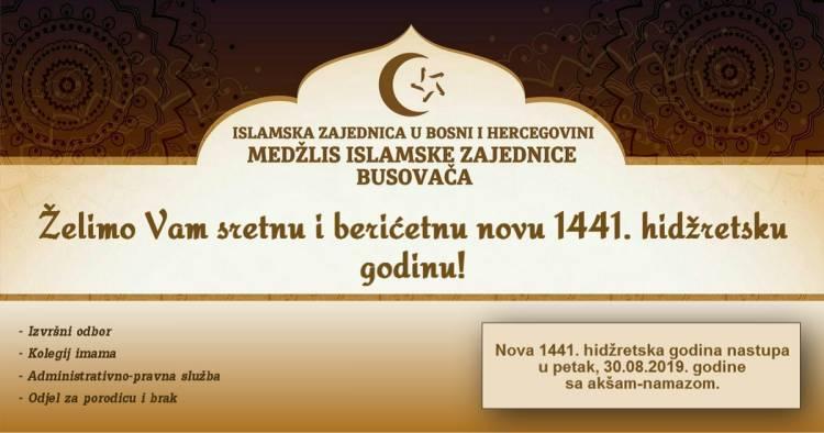 Sretna nova 1441. hidžretska godina!