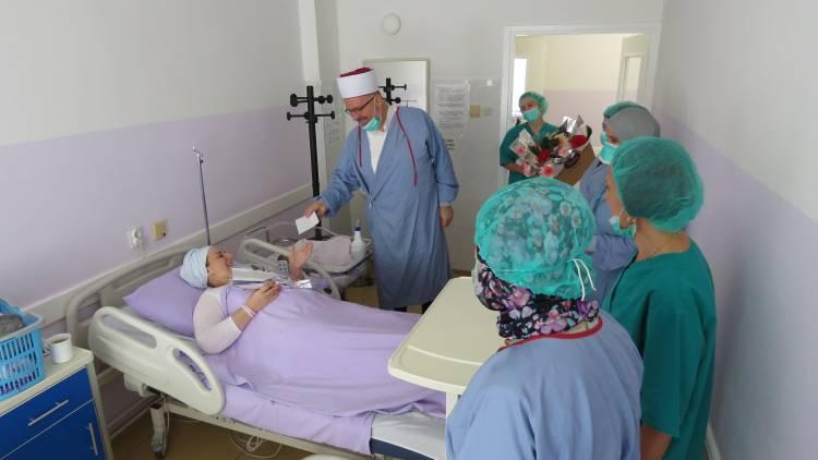 Povodom nastupanja 1441. hidžretske godine Muftija travnički darovao prvorođene bebe u Bolnici Travnik